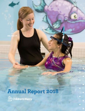 Children's Mercy Annual Report Cover